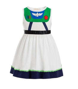 Girls Clothing snow white princess dress Clothing Kids Clothes,belle moana Minnie Mickey dress birthday dresses mermaid costume MJJ Source buzz lightyear 3T