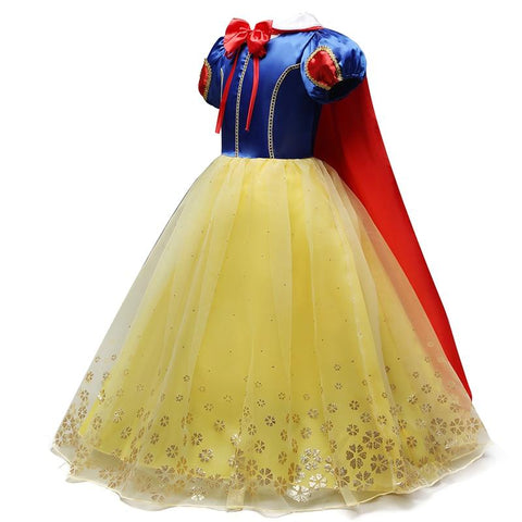 Girl Snow White Dress for Girls Princess Dress Kids Toddlers Gifts Halloween Party Clothes Fancy Clothing Cute Cosplay MJJ Source