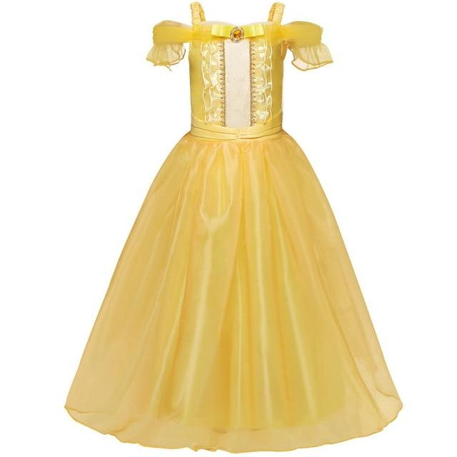 Girl Snow White Dress for Girls Princess Dress Kids Toddlers Gifts Halloween Party Clothes Fancy Clothing Cute Cosplay MJJ Source Style 5 4T