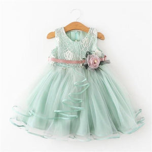 Girls Dress Princess Dress Tutu 2-6 Years Pink Children Dresses Pink Clothing MJJ Source As picture 3 5