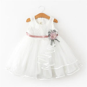 Girls Dress Princess Dress Tutu 2-6 Years Pink Children Dresses Pink Clothing MJJ Source As picture 3 3T
