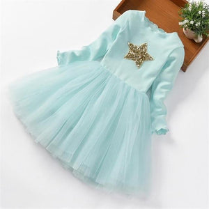 Girls Dress Princess Dress Tutu 2-6 Years Pink Children Dresses Pink Clothing MJJ Source As picture 2 3T