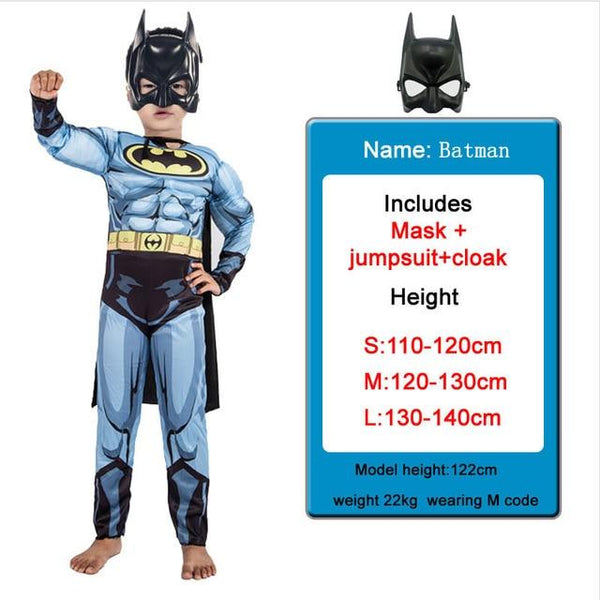 Kids Costumes With Mask and Cloak Clothing MJJ Source Batman S