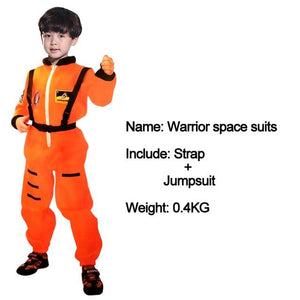 Kids Costumes With Mask and Cloak Clothing MJJ Source Space suit orange S