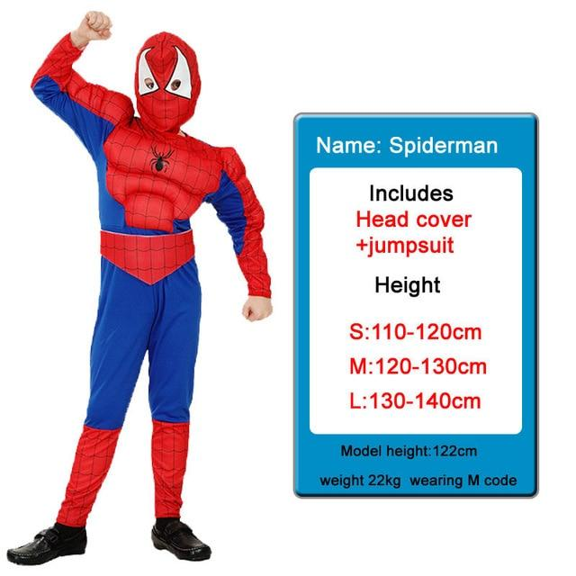 Kids Costumes With Mask and Cloak Clothing MJJ Source Spiderman S