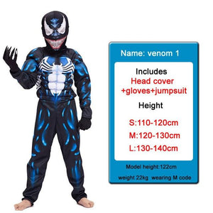 Kids Costumes With Mask and Cloak Clothing MJJ Source venom 1 S