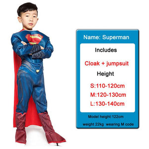 Kids Costumes With Mask and Cloak Clothing MJJ Source New superman S