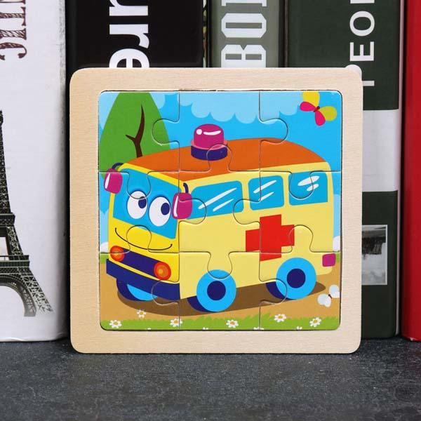Montessori Toys Educational Wooden Toys for Children Early Learning Puzzle Kids Exercise Intelligence Animal Match Teaching Aids MJJ Source 003