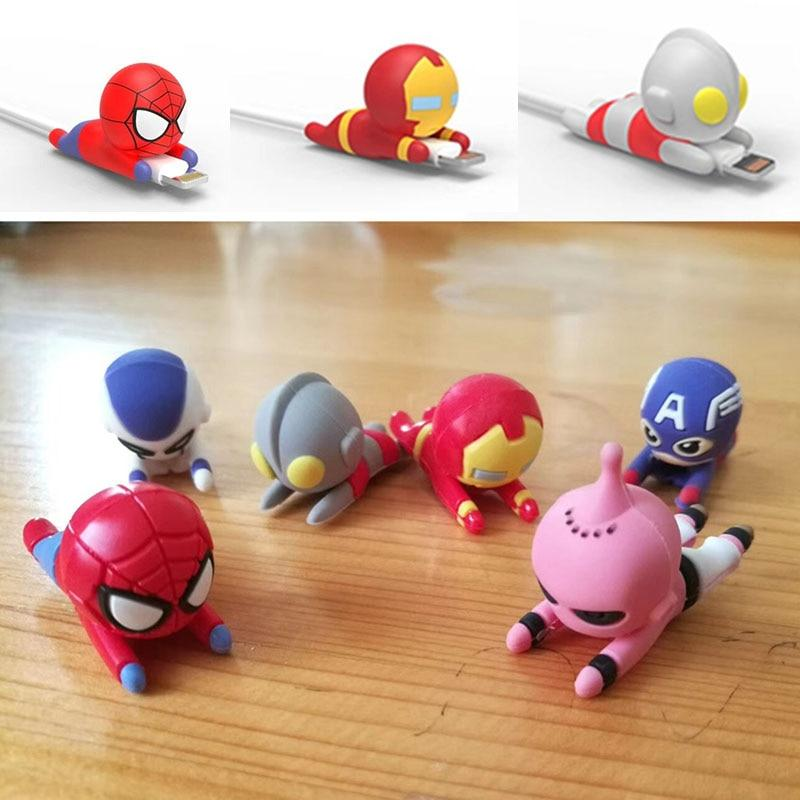 Cable Bite Protector for for Iphone cable Winder Phone holder Accessory chompers hero model funny Accessories My Moppet Shop