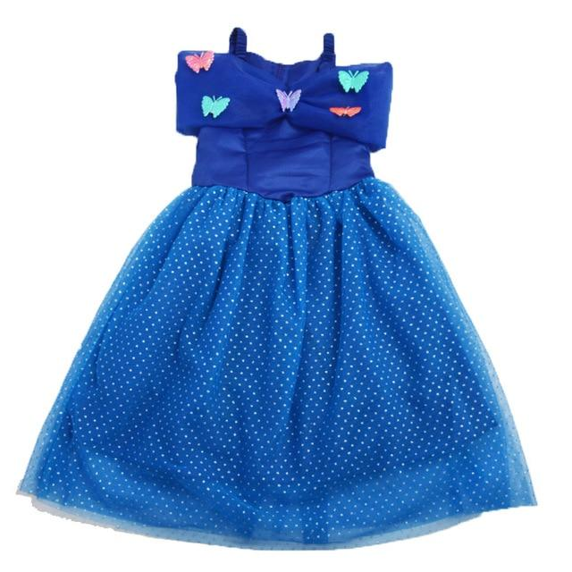 Assorted Princess Girly Dress-up Costumes (including Jasmine Aurora Belle Ana Elena Sofia Unicorn Mini)) Clothing MJJ Source Cinderella 2T