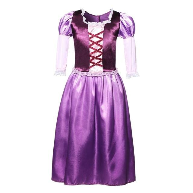 Assorted Princess Girly Dress-up Costumes (including Jasmine Aurora Belle Ana Elena Sofia Unicorn Mini)) Clothing MJJ Source Rapunzel 2T