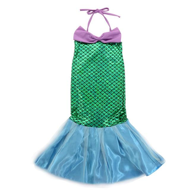Assorted Princess Girly Dress-up Costumes (including Jasmine Aurora Belle Ana Elena Sofia Unicorn Mini)) Clothing MJJ Source Mermaid Ariel 2T