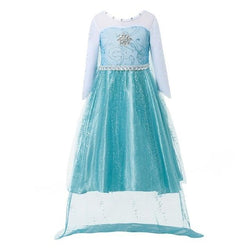 Assorted Princess Girly Dress-up Costumes (including Jasmine Aurora Belle Ana Elena Sofia Unicorn Mini)) Clothing MJJ Source Elsa 2T