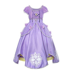 Assorted Princess Girly Dress-up Costumes (including Jasmine Aurora Belle Ana Elena Sofia Unicorn Mini)) Clothing MJJ Source Sofia 2T