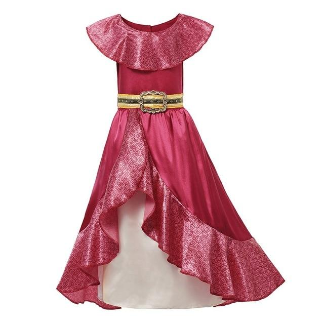 Assorted Princess Girly Dress-up Costumes (including Jasmine Aurora Belle Ana Elena Sofia Unicorn Mini)) Clothing MJJ Source Elena 2T
