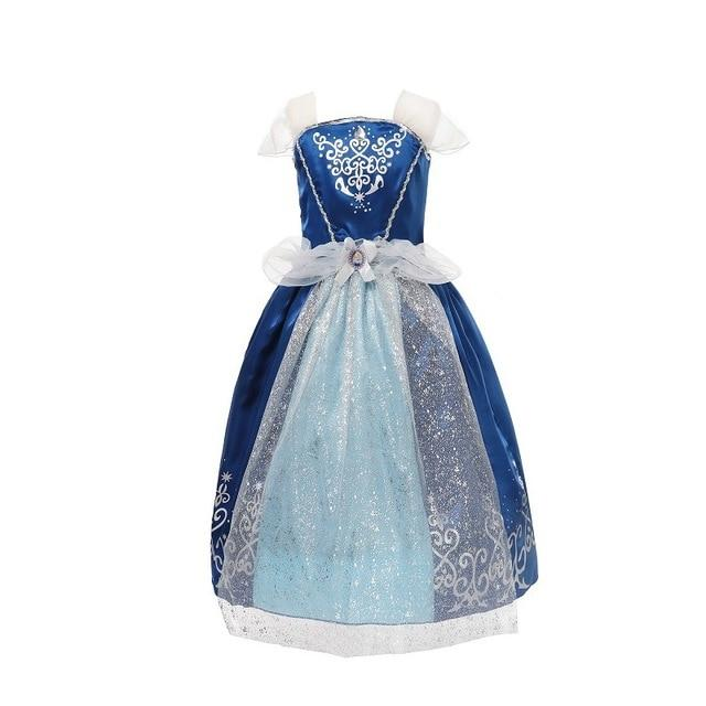 Assorted Princess Girly Dress-up Costumes (including Jasmine Aurora Belle Ana Elena Sofia Unicorn Mini)) Clothing MJJ Source Cinderella-C 9