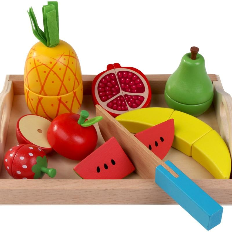 Wooden Pretend Play Fruit Vegetable Toys Toys My Moppet Shop