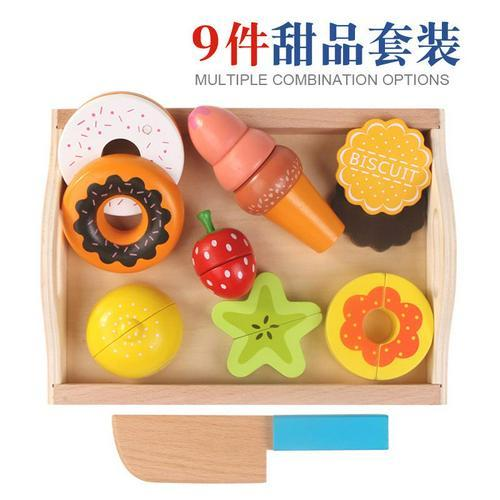 Wooden Pretend Play Fruit Vegetable Toys Toys My Moppet Shop United States A