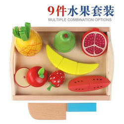 Wooden Pretend Play Fruit Vegetable Toys Toys My Moppet Shop United States B