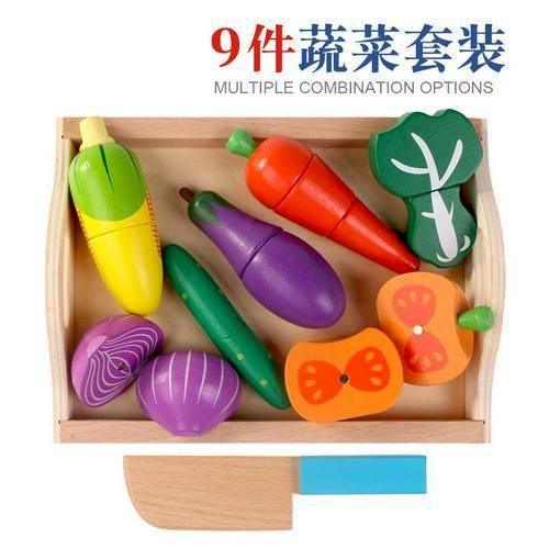 Wooden Pretend Play Fruit Vegetable Toys Toys My Moppet Shop United States C