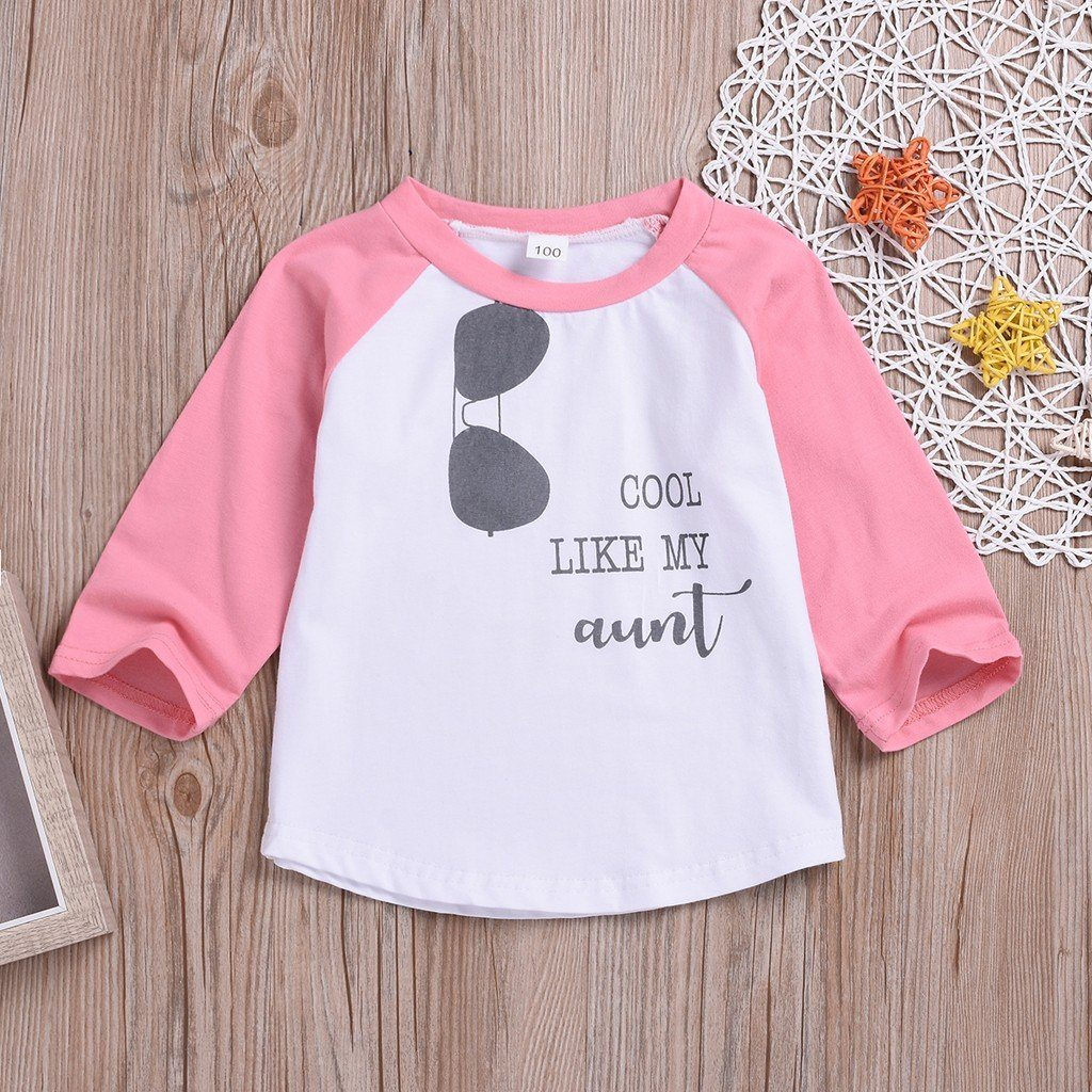 Toddler Kids Cool Like My Aunt T-shirt Clothing MJJ Source