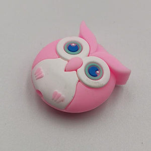 Cable bite Cute Animal cable protector for iphone usb cable organizer chompers charger wire holder for iphone cable Accessories My Moppet Shop Owl