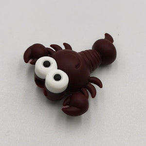 Cable bite Cute Animal cable protector for iphone usb cable organizer chompers charger wire holder for iphone cable Accessories My Moppet Shop Crawfish