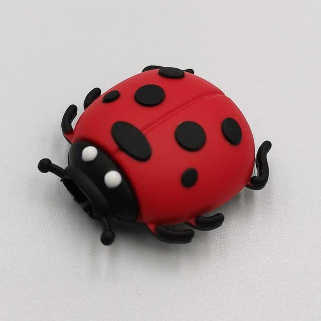 Cable bite Cute Animal cable protector for iphone usb cable organizer chompers charger wire holder for iphone cable Accessories My Moppet Shop Ladybug