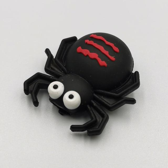 Cable bite Cute Animal cable protector for iphone usb cable organizer chompers charger wire holder for iphone cable Accessories My Moppet Shop Spider