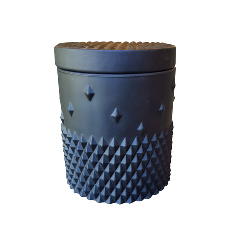 Black stud candle