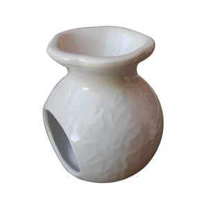 Ceramic Tealight White Melts Warmer