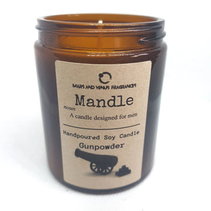 Mandle: Gunpowder Man Candle
