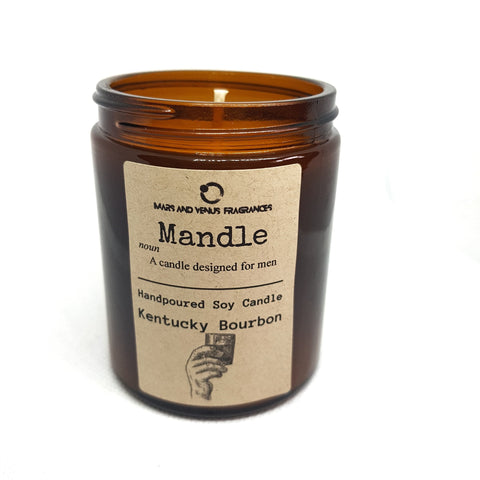 Mandle: Kentucky Bourbon Man Candle