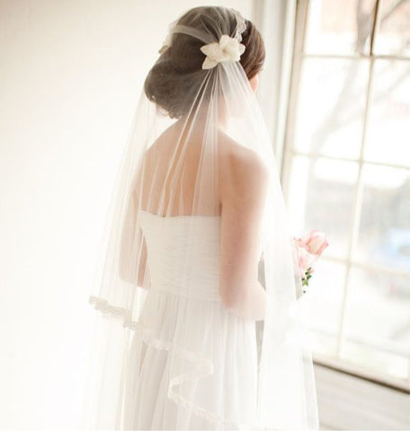 ways to wear a bridal veil 3