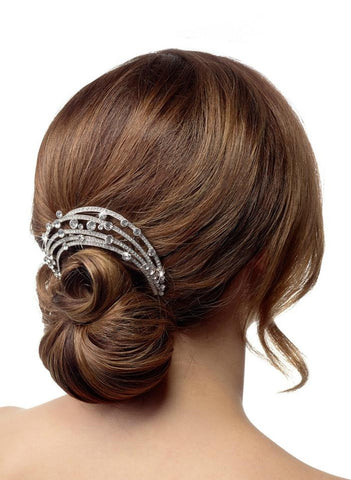 hair comb for bride rhinestone