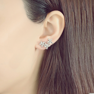 Dainty sparkle earrings