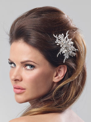 Haircomb bride with strass BB-1263