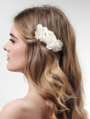 Hair corsage BB-464 ivory