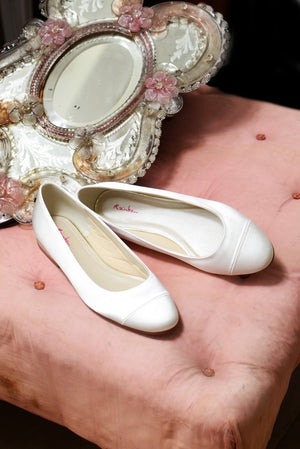 Bridal Shoe Bess - In White Shop