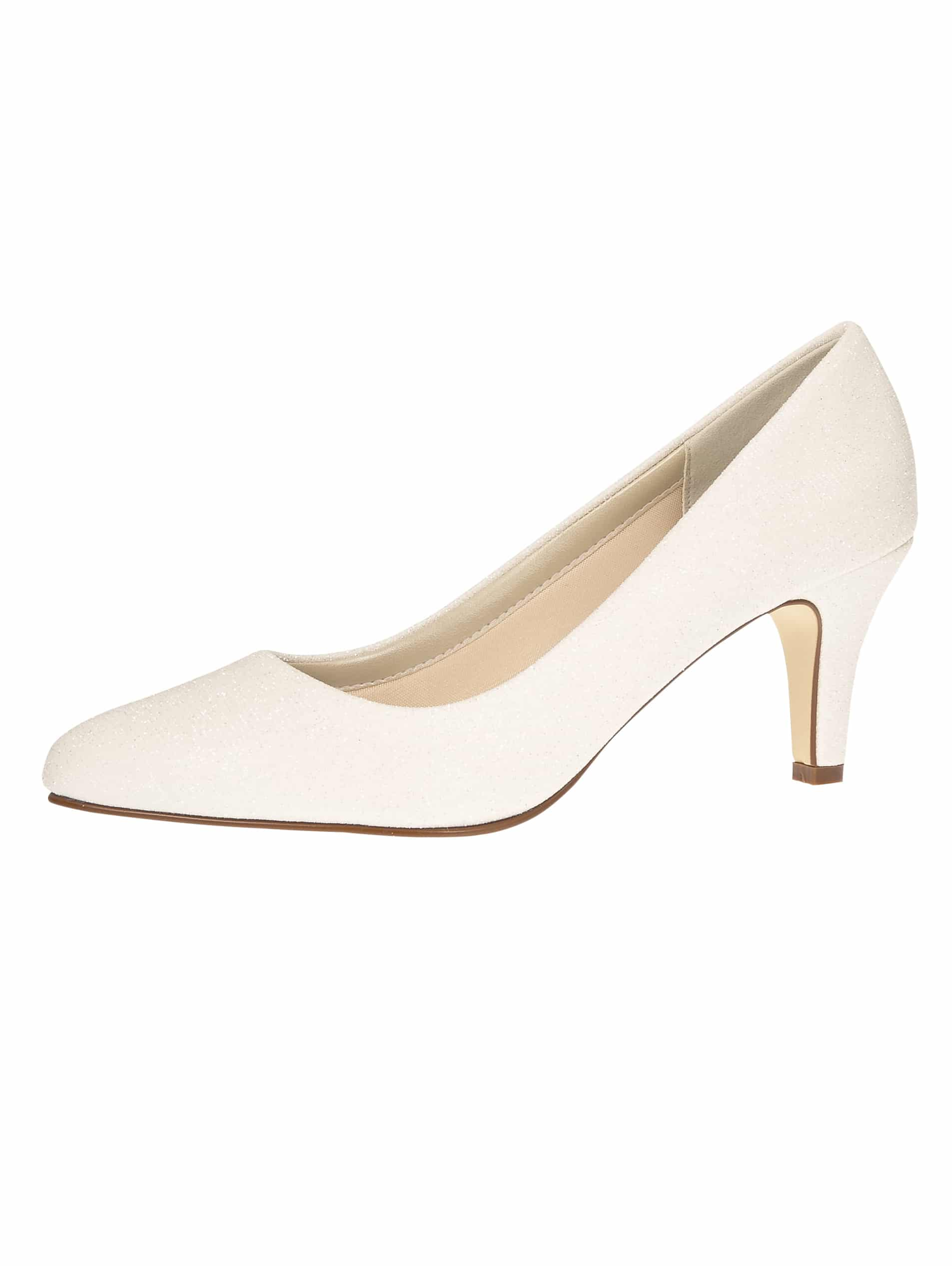 Bruidsschoen Brooke Off White Metallic - In White Shop