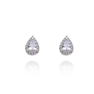 Earrings zirconia drop