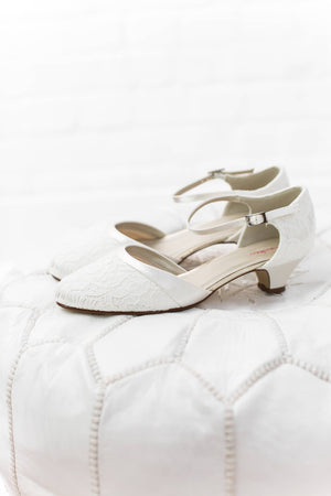 Bridal Shoe Mickie- In White Shop