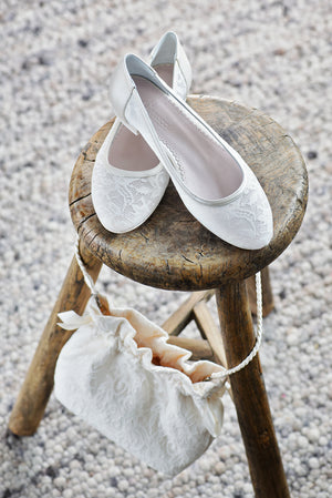 Bridal Shoe Pascalle - In White Shop