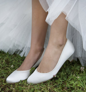 Wedding shoe Paula - In White Shop