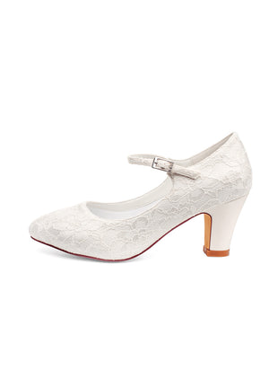 Bridal shoe Agnes - In White Shop