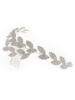 BB-467 Hair jewelry silver