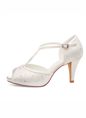 Brautschuh Betty - In White shop