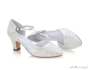 Bridal shoe Livia aside