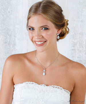 G. Westerleigh jewelry set bride JN0987