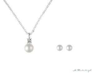 G. Westerleigh jewelry set with pearls HS-J07L